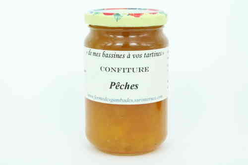 CONFITURE DE PECHES 370G