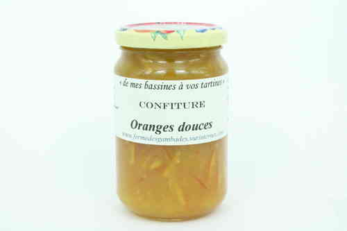 CONFITURE d' ORANGES DOUCES 370g