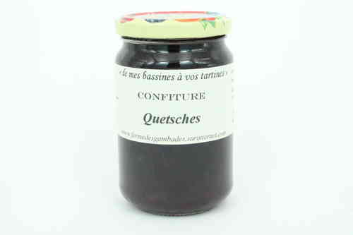 CONFITURE de QUETSCHES 370g