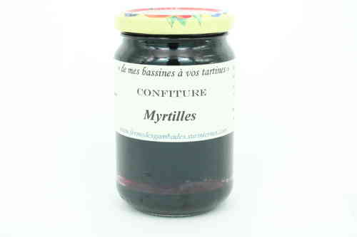 CONFITURE de MYRTILLES 370g