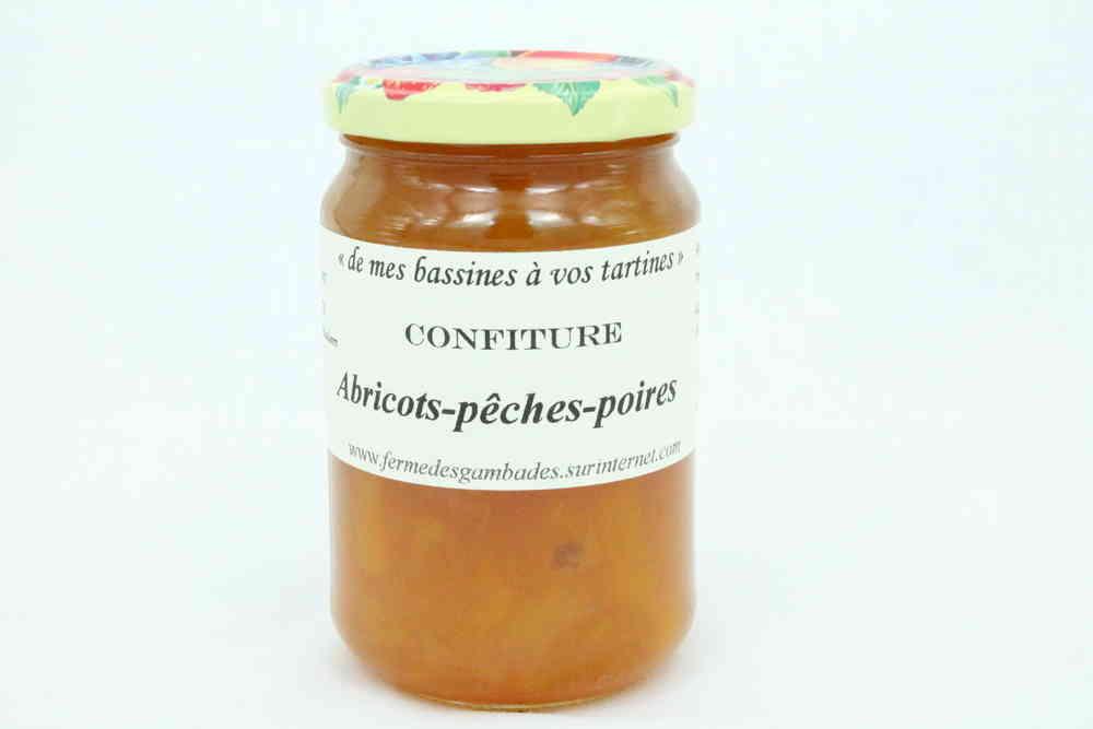 confiture abricot poire